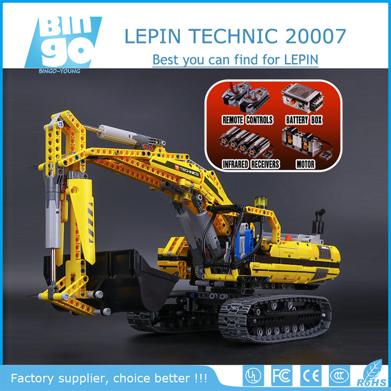 Bingo Hottest China Wholesale Lepin Creators /Stars / Technic Building Block Brick Toys 20007