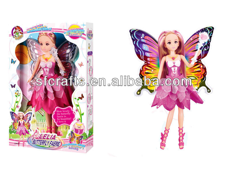 2013 lastest fairy butterfly doll toy for children