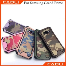 Camouflage Shock-resistand Hybrid TPU+PC Combo Phone case for Samsung Grand Prime