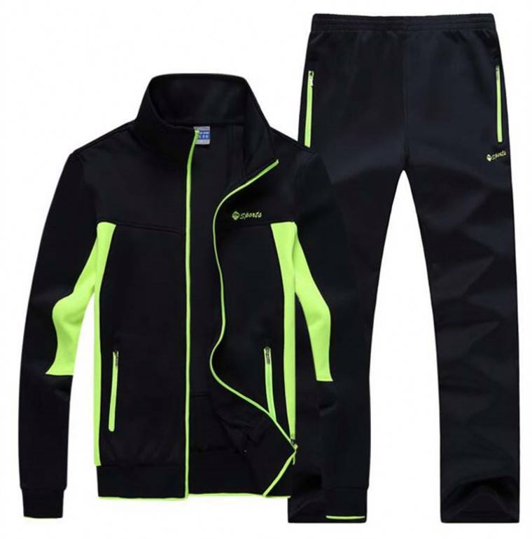 High Quality Mens Black Plain Hoodies Tranining Tracksuit / Football Running Sports wear for women