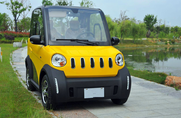 2 seater electric mini car easy charging at home maintenance free lead acid battery