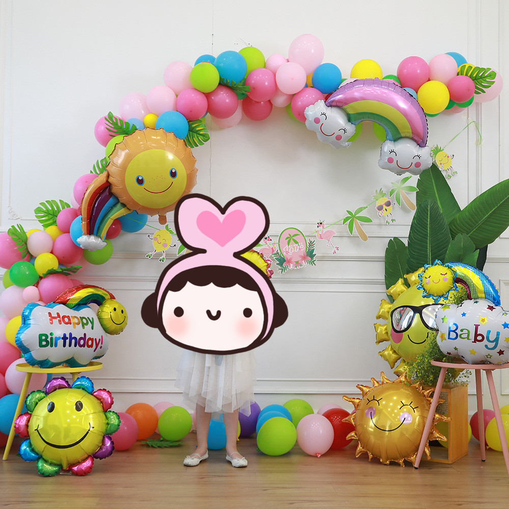 5M Balloon Chain  Balloons Accessories Wedding Birthday Balloons Backdrop Decor Accessories For Birthday Wedding Events
