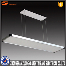 modern suspended lamps hanging 40w integrated ceiling led office lights