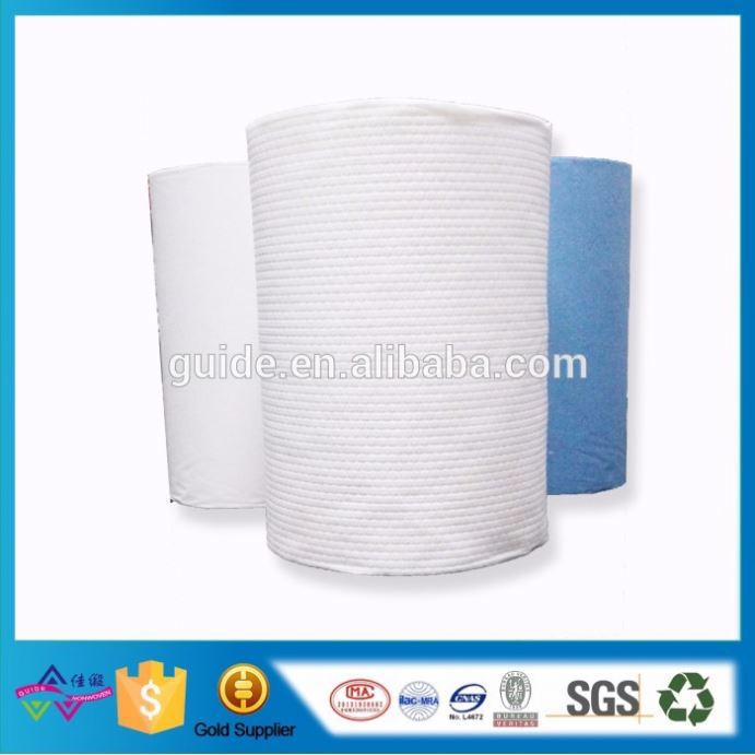 Home Textile Nonwoven Wipe Roll High Quality Wood Pulp Spunlace Cloth Wiping Cloth For Television Equipment