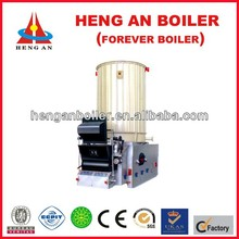 Vertical induction heating boiler