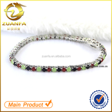 China guangzhou jewelry market panyu wholesale 925 sterling silver bracelet jewelry
