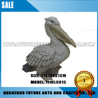 Wholesale Resin Pelican With A Long Mouth Decoration