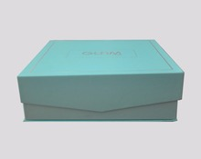 factory custom produce design high quality Cosmetics gift box with logo printed