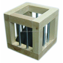 china wholesale instant insanity wooden puzzle cube game