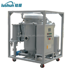 LUSHUN Brand 12000Liters /H Transformer Oil Purification System for Above 110KV insulation oil filtration
