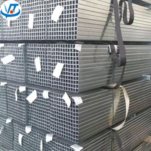 high quality Pre galvanized square / rectangular steel tube and pipes