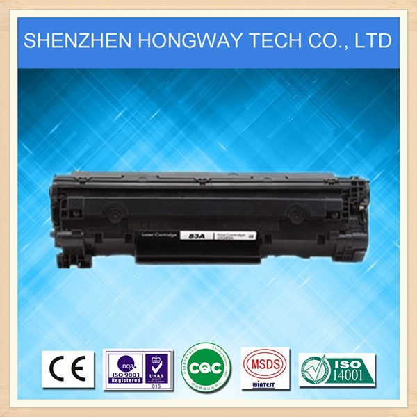 With chip & New OPC LaserJet Pro MFP M125/M127/M127fn/M201/M225 CF283A toner cartridge for hp laser printer