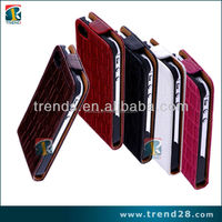 up and down luxury flip leather case for Iphone 5 5s