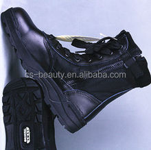 Factory Price Zipper / Lace-UP Leather US Military Army Boots Wholesale