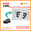 2 colors side light cover side mirrorcover TOYOTA Fortuner 2015~new SUV exterior car accessories