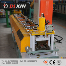 Dixin manufacturer steel fence post roll forming machine with train service