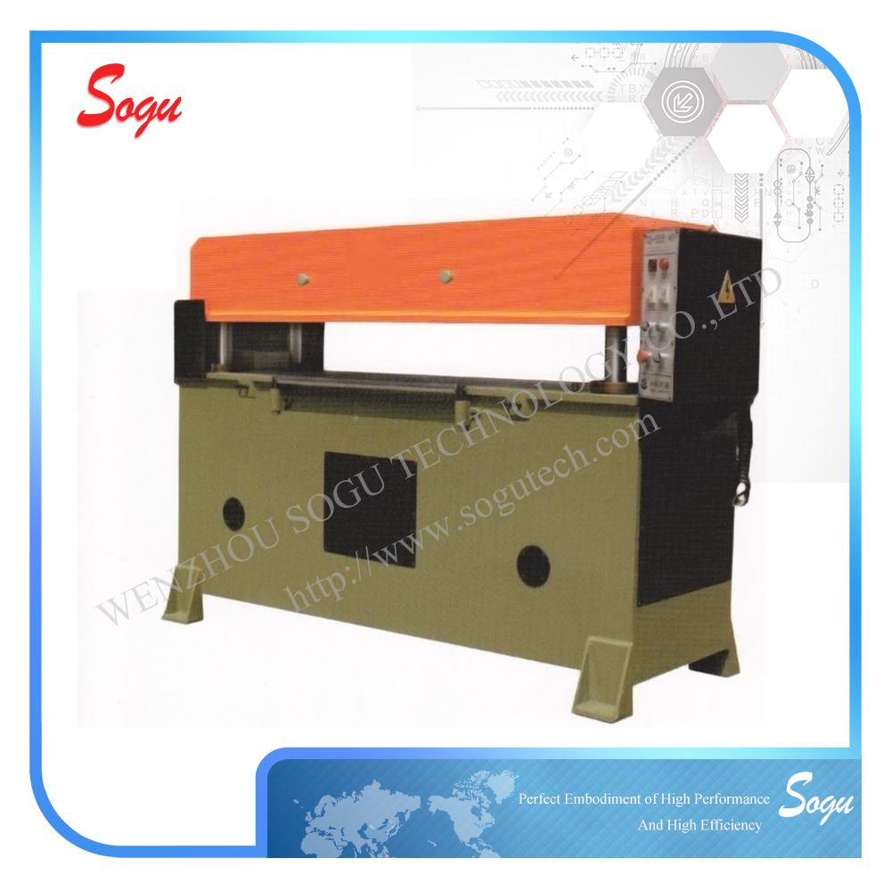 Hydraulic Precise Four Columns Leather Shoe Sole Die Cutting Press Machine