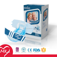 OEM available audlt diapers of free adult film with high absobency printed disposable adult diapers