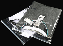 Clear self-adhesive Plastic Clothes Packaging Bag