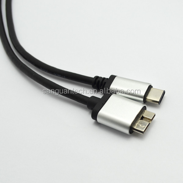 Silver micro 10pin to usb type c factory wholesale