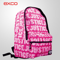 EXCO ergonomic back fashion nylon high school backpack for teenagers backpack bag girls