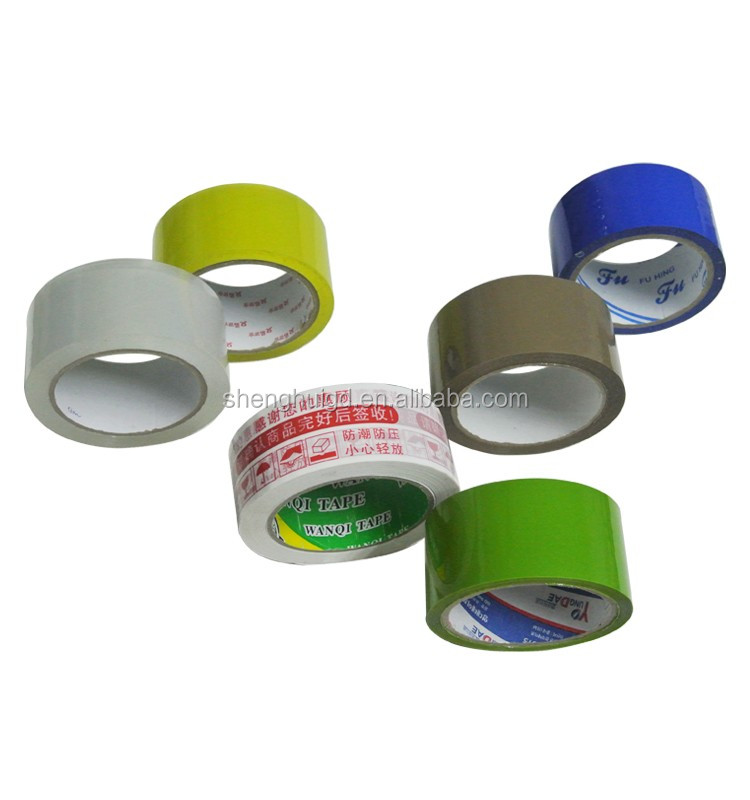 Water Based Single Sided  Tape No Bubbles Super Clear Bopp Tapes