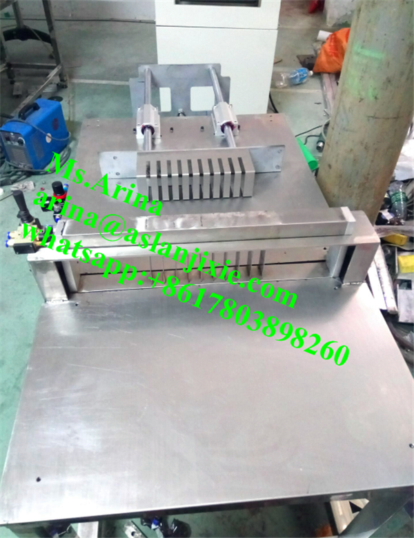 block soap base cutting machine/ round soap slicing machine/ Washing Hand Use Soap bar cutter