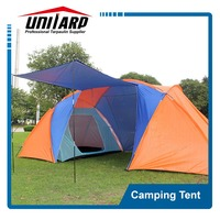 Outdoor Camping Tent Tourist Big Two Bedrooms 4 Season 4 Person Tents Travel Large Family Camping