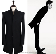 wool winter coat made to measure men overcoat BCZ026