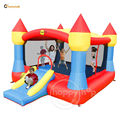 Happyhop Super Inflatable castle-9217N Super Castle Bouncer with Sun Roof