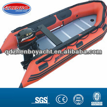 380cm 0.9mm PVC Inflatable Fishing Boat with yamaha Engine