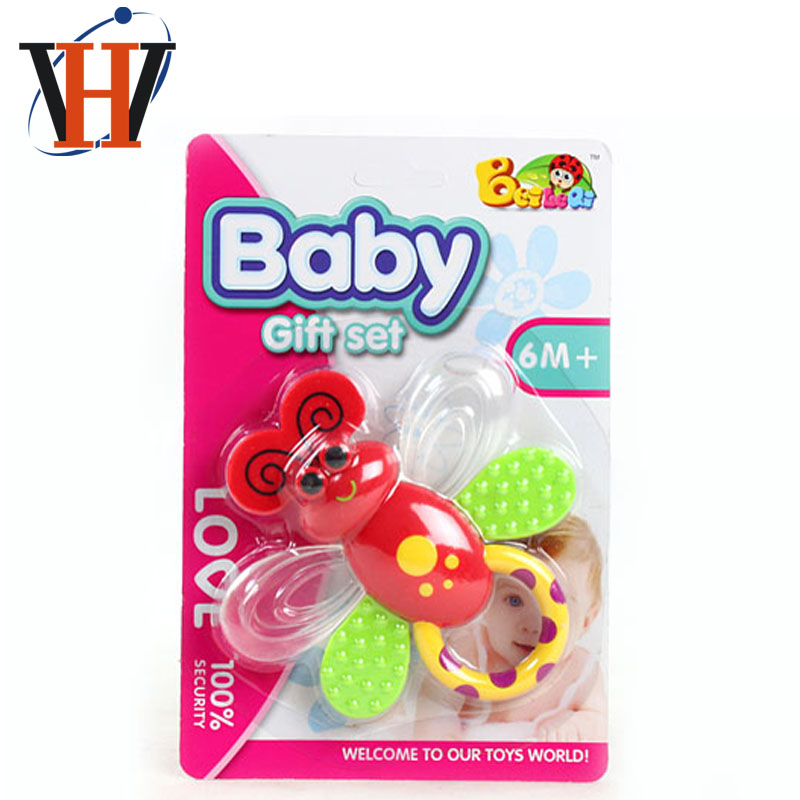 2017 new teether baby developmental chew toy baby teething toy