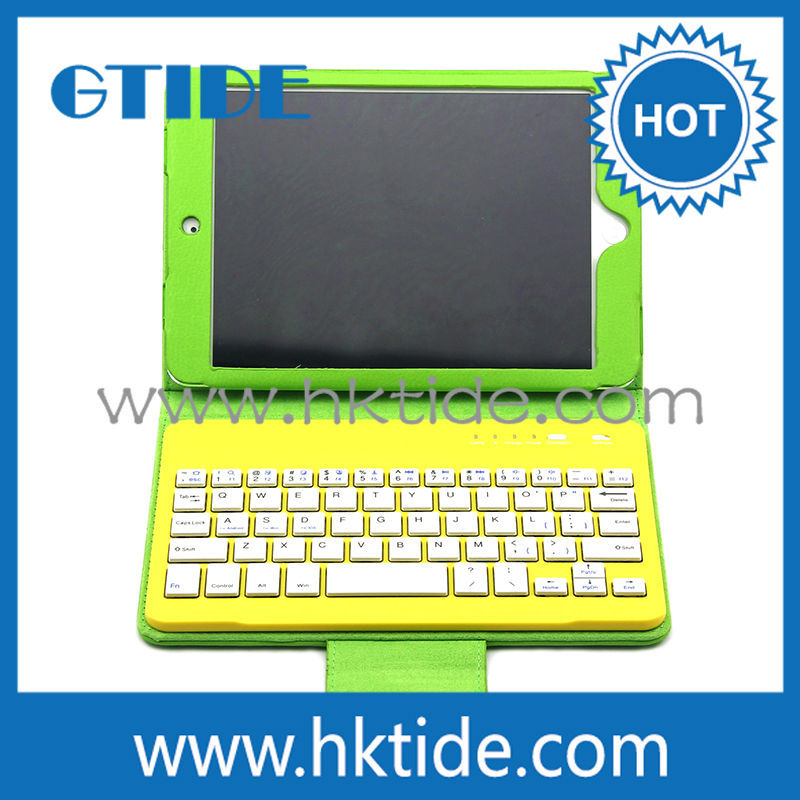 7 inch for ipad mini ultra-thin ABS 3.0 bluetooth keyboard with case,wireless bluetooth keyboard bcm20730,colors keyboard case