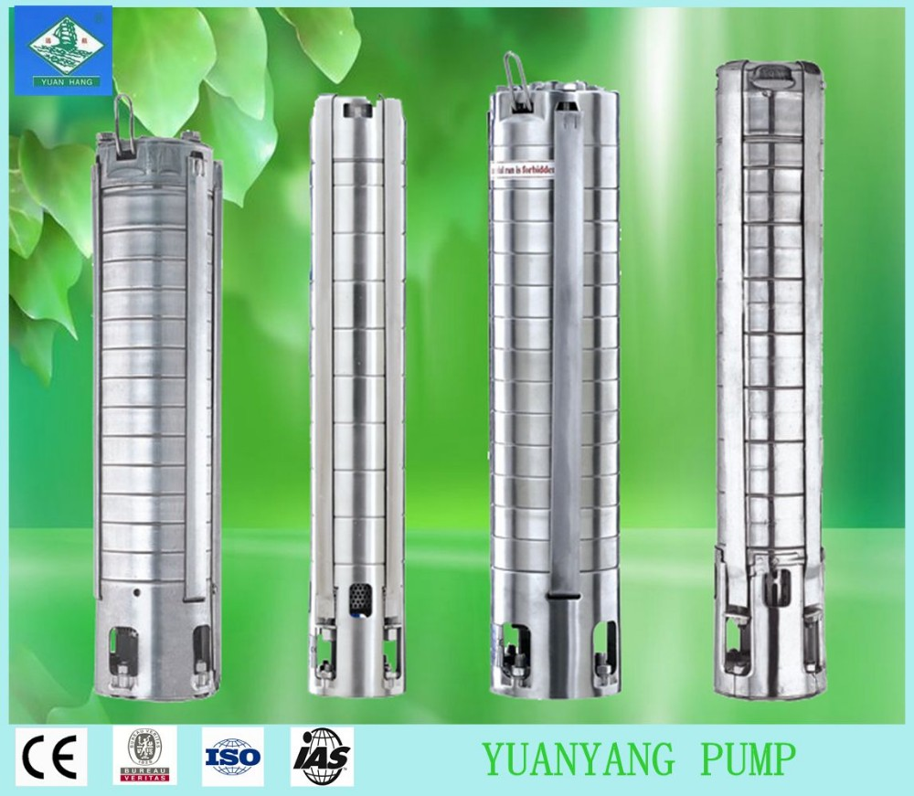 "3.5"" 4"" 6"" Stainless Steel Submersible centrifugal Electric Pump"
