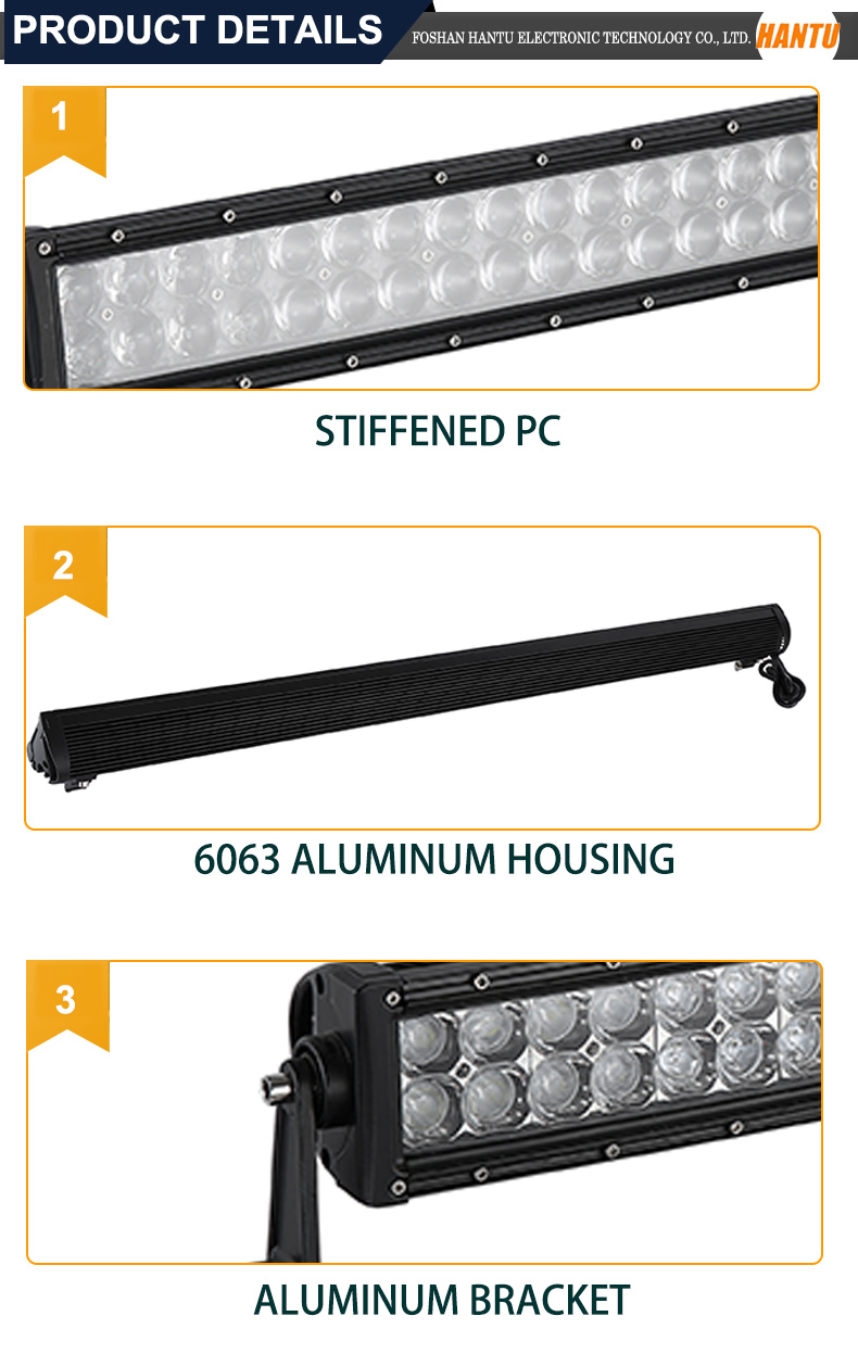 IP67 heavy duty thin led light bar