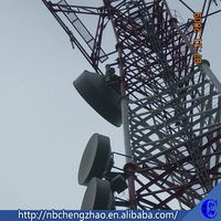 Advanced configuration steel telecom bts tower