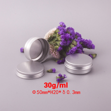 Guangzhou Factory Wholesale empty gift tins Essential oil cans Aluminium Can -1oz/30ml 50*20