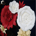 Highly quality wall hanging blush pink artificial flowers for wedding decoration