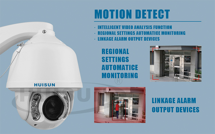 30X 650TVL 100m ir night vision auto tracking PTZ laser speed dome analog camera