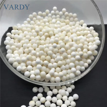Beautiful Natural White Tridacna Round Beads Quartz Tridacna Crystal Tumbled Stone For Sale