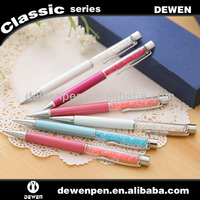 2014 good quality promotional metal ball pen cristal