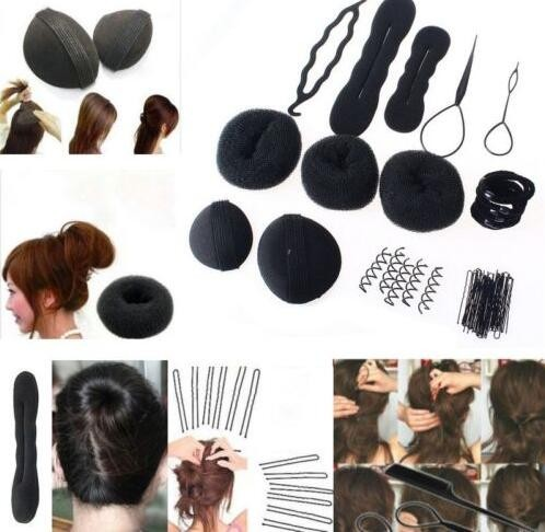 Fashion Women Magic Braiders Hair Twist Styling Clip Stick Bun Maker Braid Tool