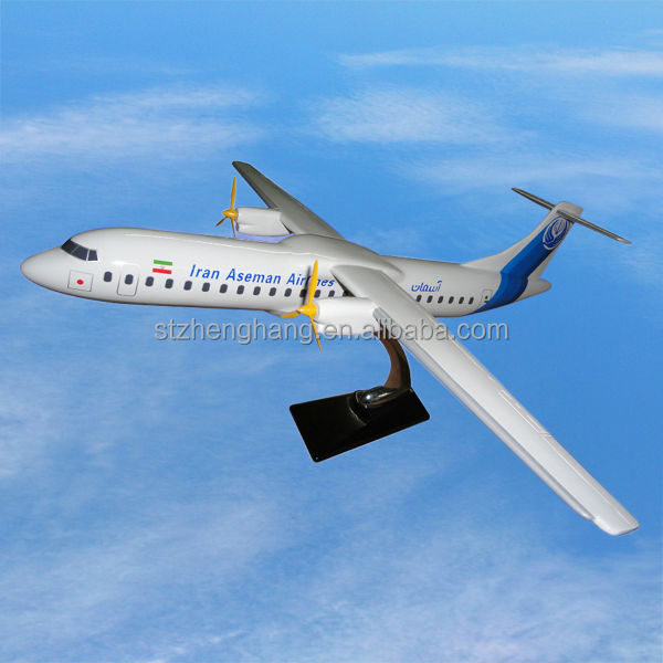 scale model aircraft ATR72 resin airplane model aircraft model gifts, ISO9001,OEM,excellent quality, decoration, collection