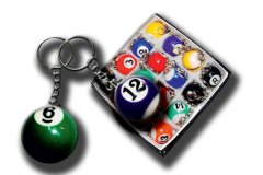 Mpiliardo key chains Billiards