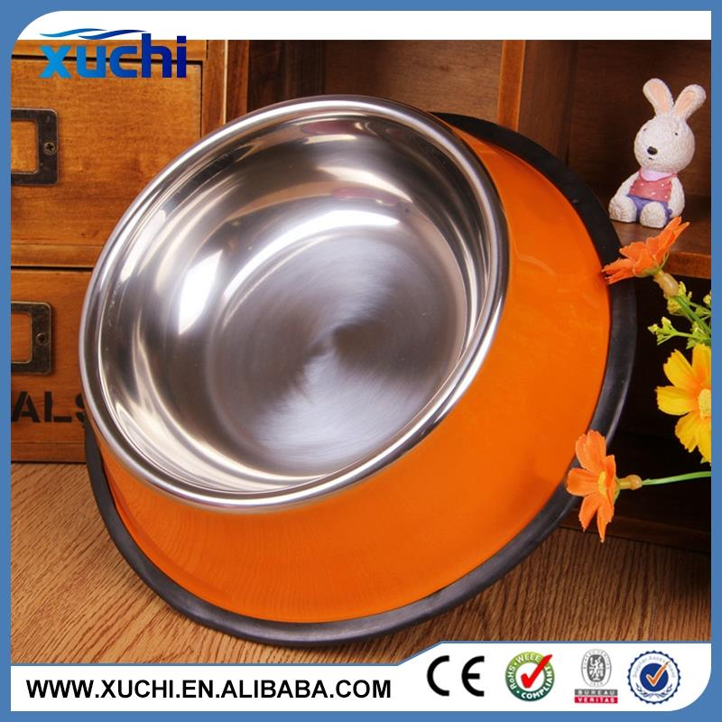 fashion high quality dog bowl with wood stand made in China