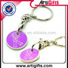 Promotional key chain coin with custom logo