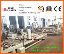 Automatic vertical and horizontal stone cutting machine