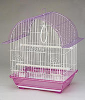 commercial round proof iron + power coated bird parrot petsmart cage 1600