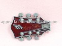 GUITAR STRING TUNER ROCK N ROLL MUSIC BAND BELT BUCKLE