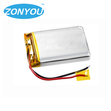 2018 Hot 104060 3.7v 2400mAh rechargeable battery lipo for electric toy